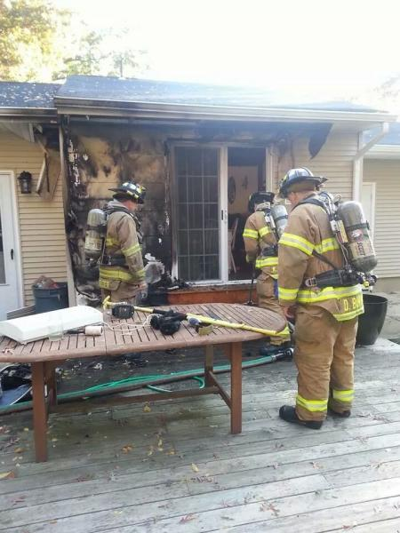 Deck Fire