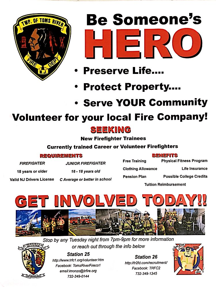 DO YOU HAVE WHAT IT TAKES TO BE A FIREFIGHTER? IF SO WE WANT YOU!